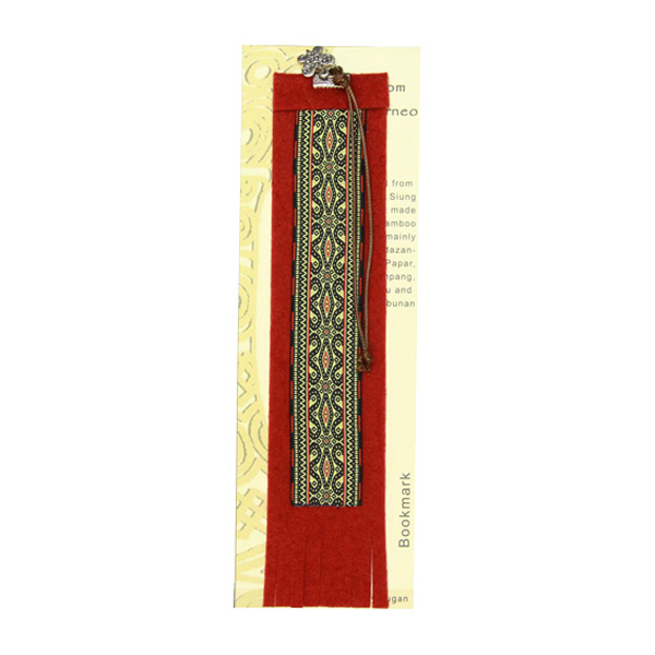 Ecofelt-Bookmark—Kadazandusun