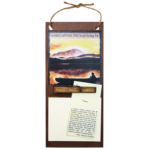 Memo-Holder—Mount-Kinabalu
