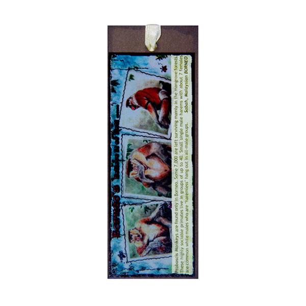 Bookmark—Proboscis-Monkey
