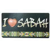 Foil-Fridge-Magnet—I-Love-Sabah-(Rungus)