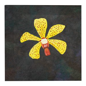 Painting---Yellow-Orchid-(1)