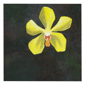 Painting---Yellow-Orchid-(2)