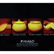 Postcard—Rungus-Handicrafts