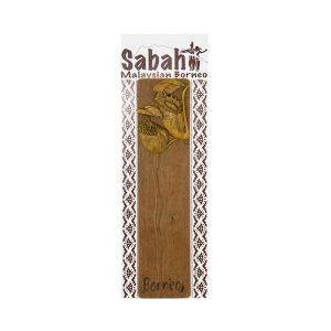 Wooden-Bookmark---Pitcher-Plant