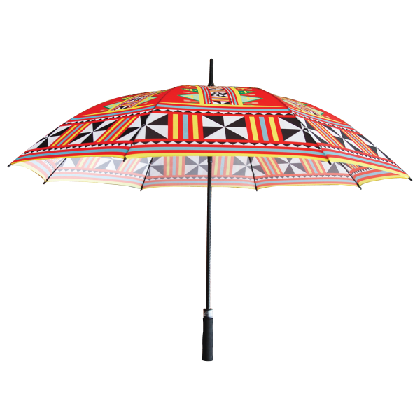 Umbrella Motif – Red